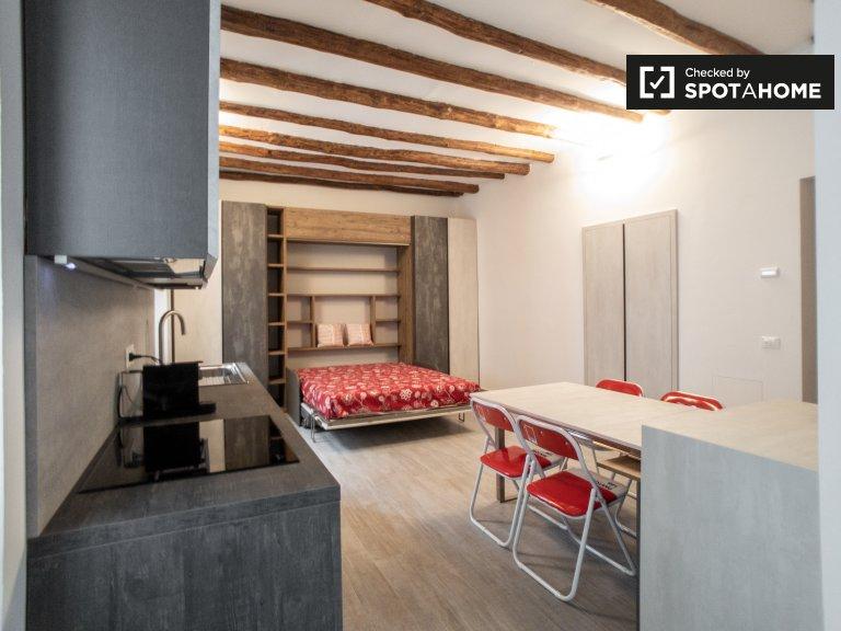 Studio-Wohnung zur Miete in Sant'Ambrogio, Mailand