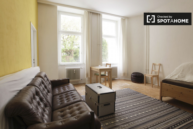 Stylish studio apartment for rent in Mitte