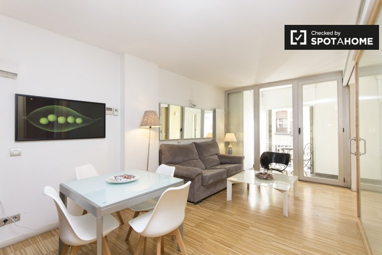 Bright 2-bedroom apartment for rent in Centro, Madrid