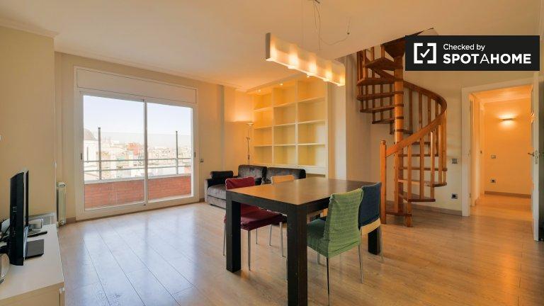 3-bedroom apartment for rent, Horta-Guinardó, Barcelona