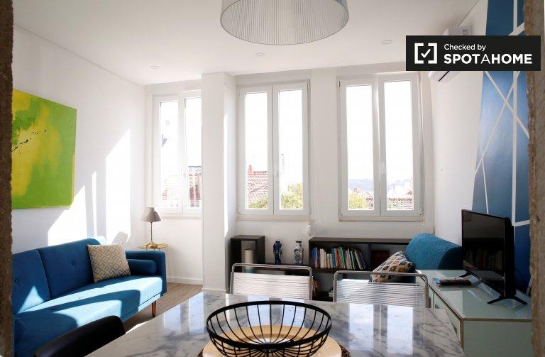 1-pokojowe mieszkanie do wynajęcia w Estrela, Lizbona