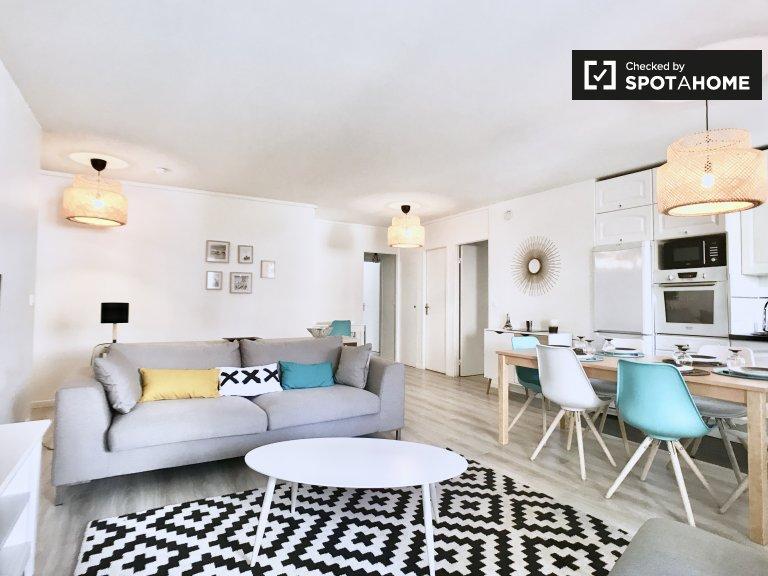 3-bedroom apartment for rent in Levallois-Perre, Paris