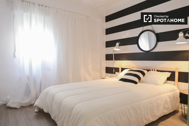 Stylish 2-bedroom apartment for rent in Campanar, Valencia