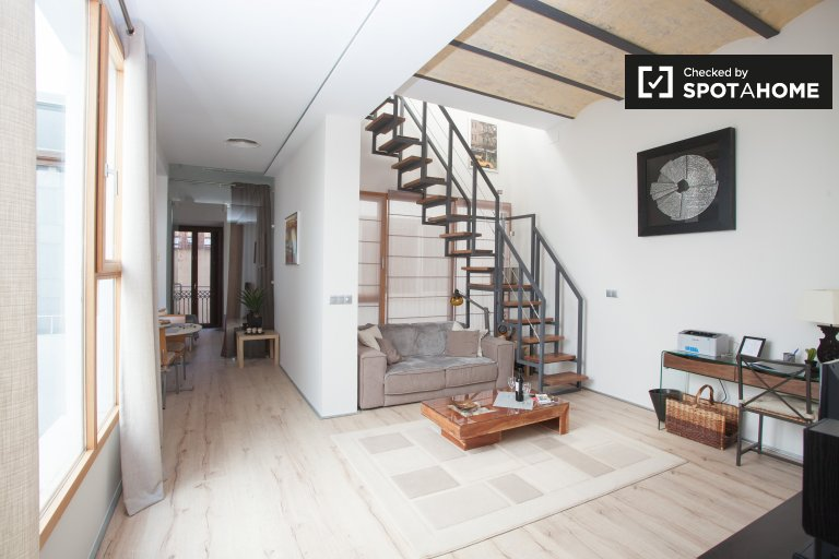 Stylish 1-bedroom apartment for rent in Casco Antiguo