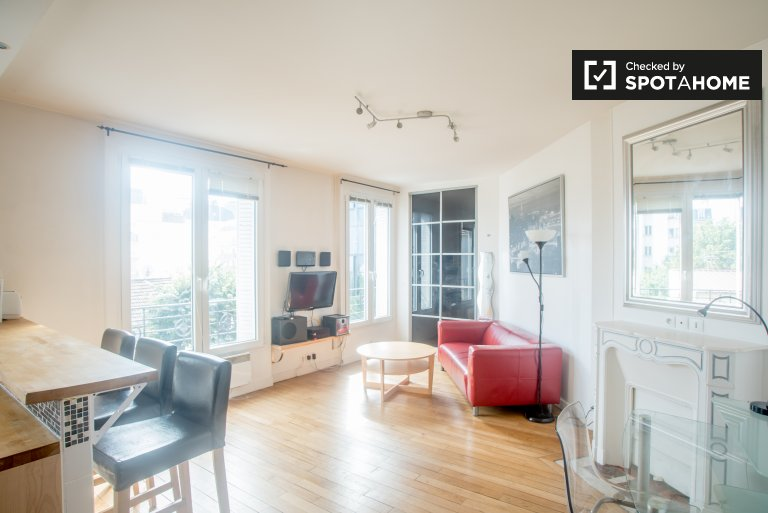Cosy 1 bedroom apartment for rent in La Garenne-Colombes