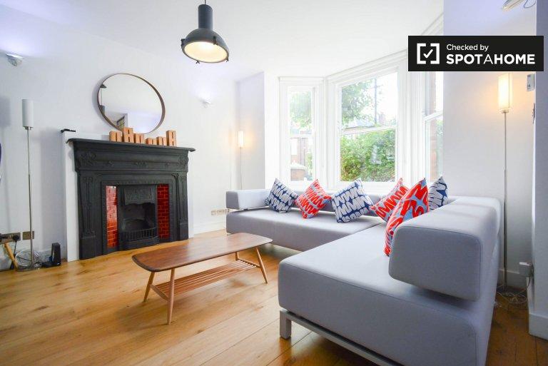 Trendy 4-Zimmer-Haus in Kensington & Chelsea zu vermieten