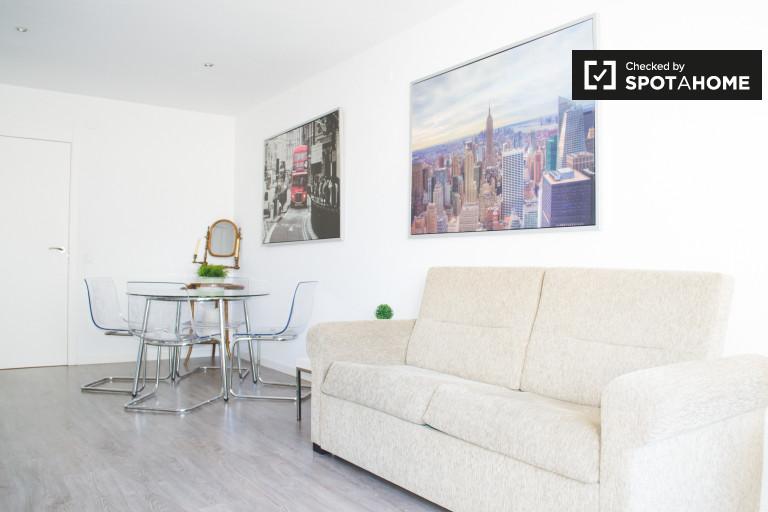 Apartamento com 1 quarto espaçoso para alugar em Argüelles, Madrid