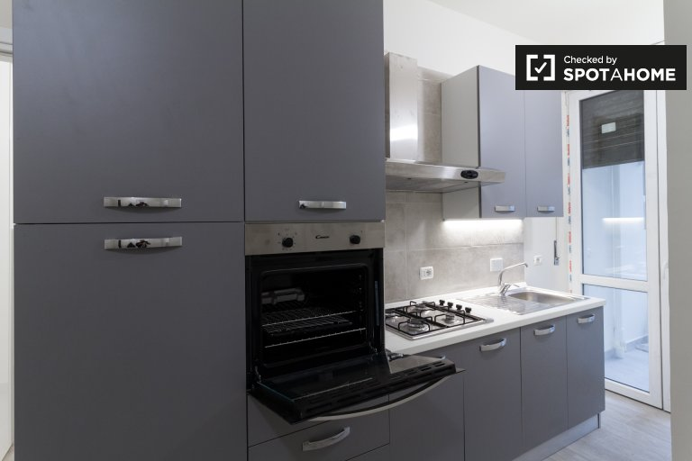 Chic 2-bedroom apartment for rent in San Salvario, Turin
