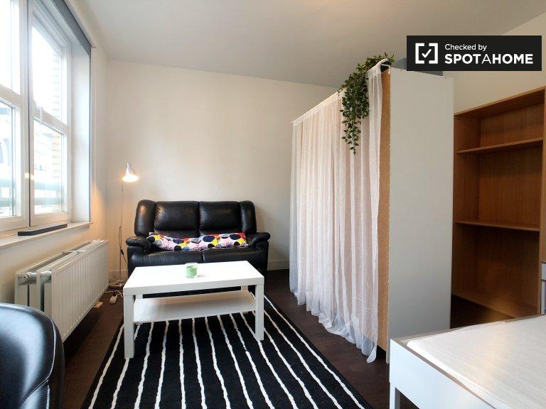 Spaziosa camera in appartamento con 2 camere da letto, Saint Josse, Bruxelles