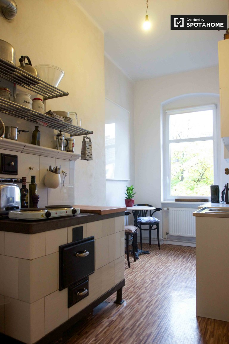 Charming 1-bedroom apartment for rent in Neukölln