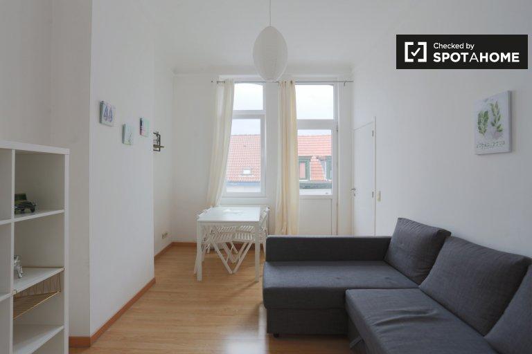 Appartement 1 chambre à louer à Saint Josse, Bruxelles