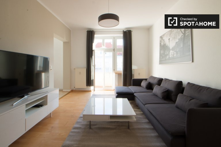 Airy 1-bedroom apartment for rent in Friedrichshain, Berlin