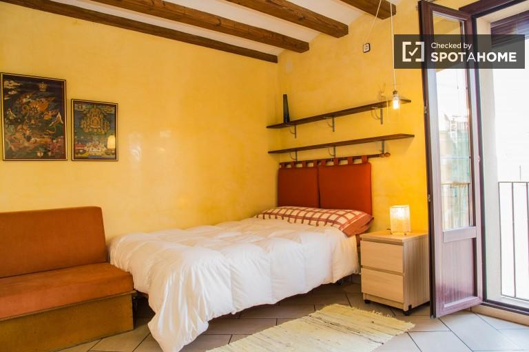 Accogliente appartamento affittato a El Raval, Barcellona