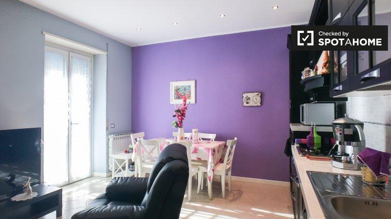 Charmoso apartamento de 1 quarto para alugar, Torre Angela, Roma