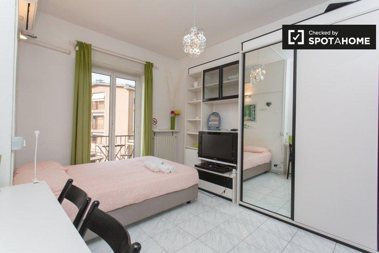 Moderne Studio-Wohnung zur Miete in Dergano, Mailand