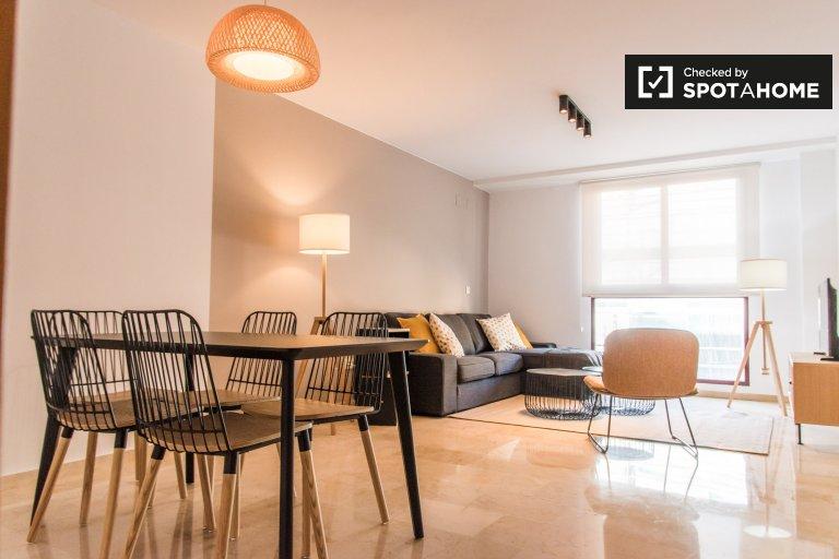 Appartamento con 3 camere da letto in affitto a Patraix, Valencia