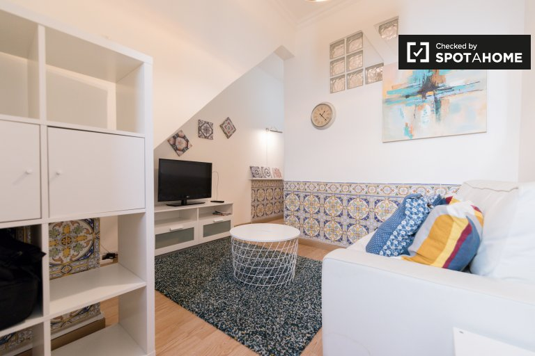 Pretty 1-bedroom apartment for rent in Belém, Lisbon
