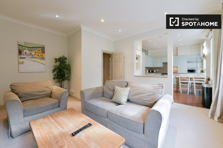 Gut ausgestattete 2-Zimmer-Wohnung im lebhaften Camden zu vermieten