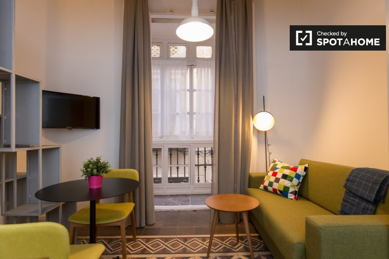 Colourful studio apartment for rent in Realejo