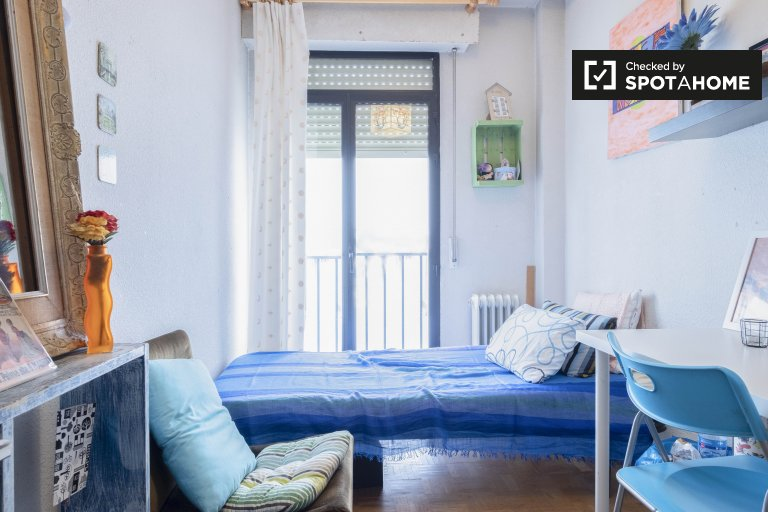 Sunny room in 2-bedroom apartment in Lavapiés , Madrid