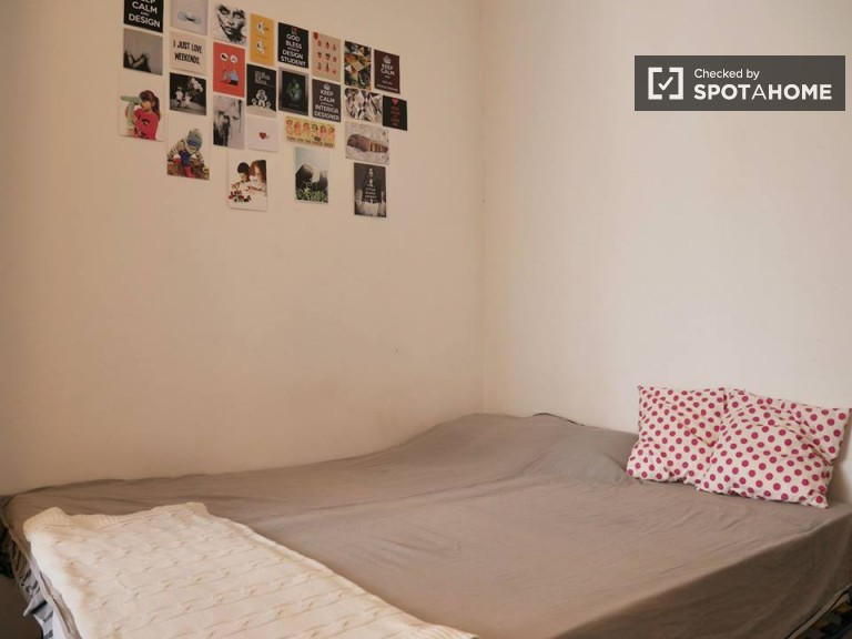 Single Bed in Big rooms for rent 5 minutes from Milano Centrale