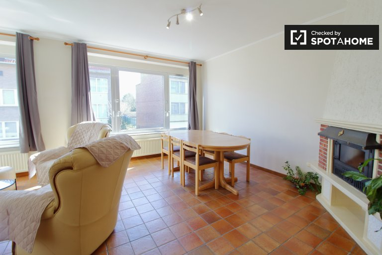Lovely 3-bedroom house for rent in Uccle, Brussels