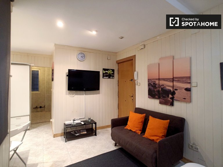 Studio apartment for rent in Delicias, Madrid