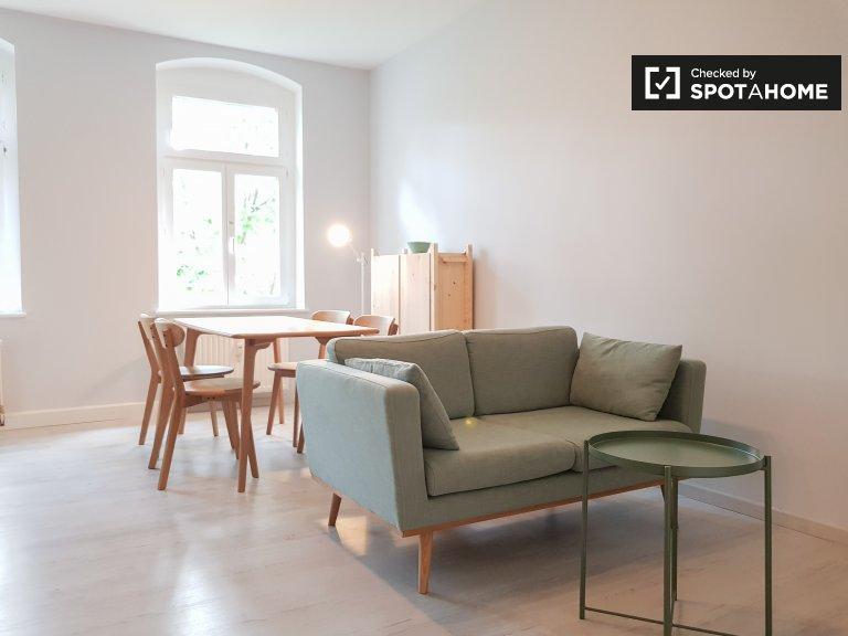 Elegante apartamento de 1 habitación en alquiler en Pankow, Berlín