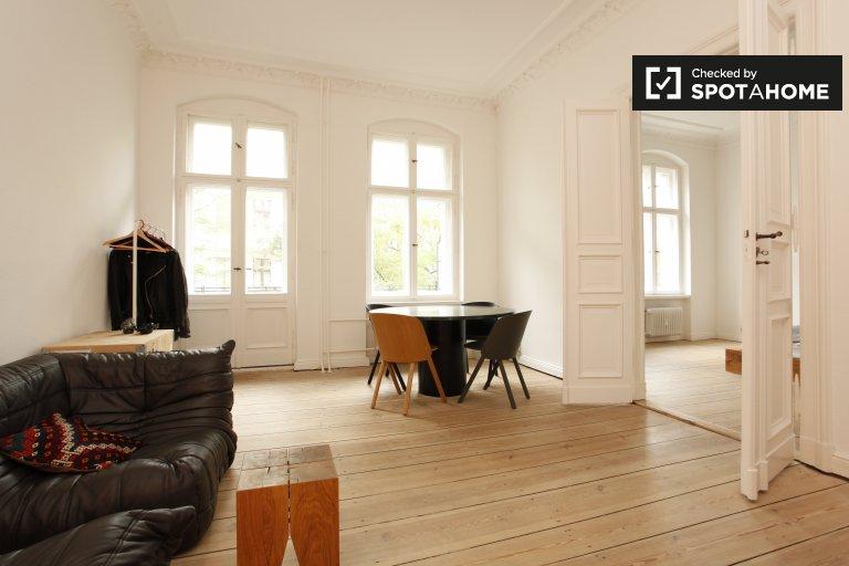 Beautiful 1-bedroom apartment for rent in Kreuzberg