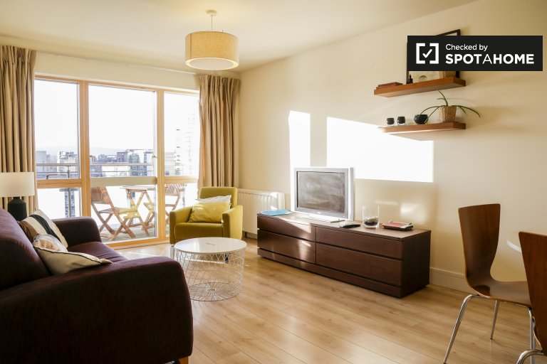 Appartement 1 chambre à louer à Grand Canal Dock, Dublin