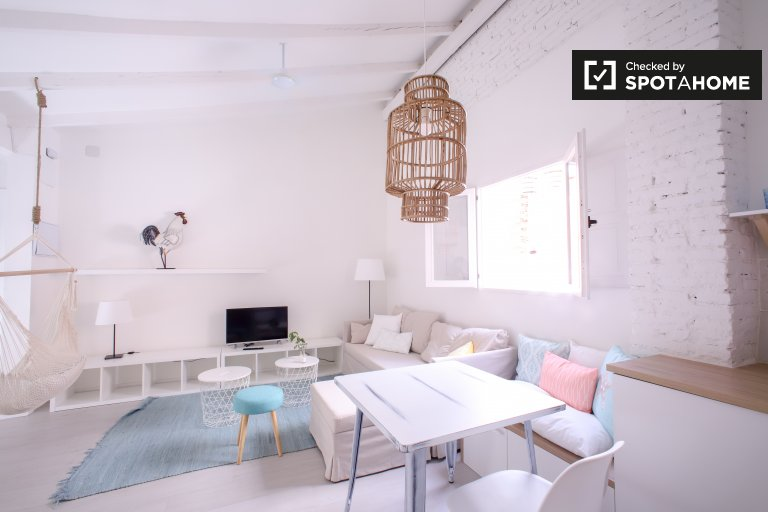 Bright 1-bedroom apartment for rent, Benicalap, Valencia