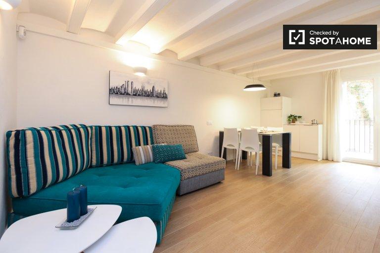 Apartamento de 2 quartos para alugar em Sants, Barcelona