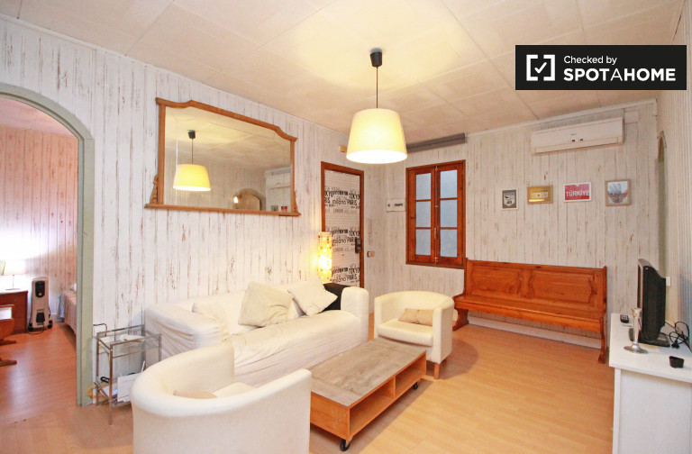 Spacious 2-bedroom apartment for rent in Raval, Barcelona