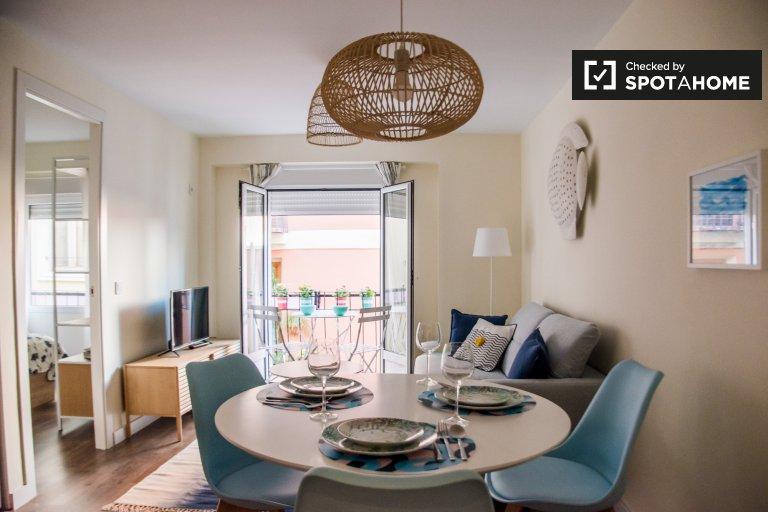 Accogliente appartamento in affitto con 2 camere da letto, Ciutat Vella