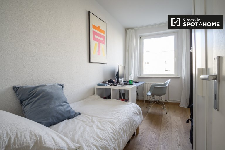 Balcony room in shared apartment in Treptow-Köpenick, Berlin
