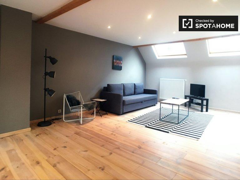 Élégant appartement 1 chambre à louer à Ixelles, Bruxelles