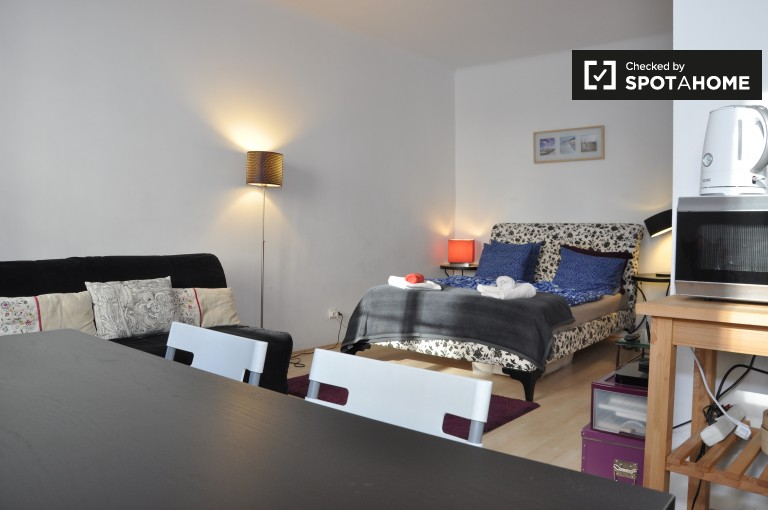 Bright studio apartment for rent in Margareten area