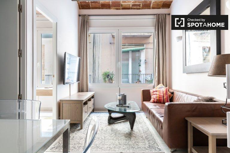 Elegante apartamento de 2 dormitorios en alquiler en El Raval, Barcelona