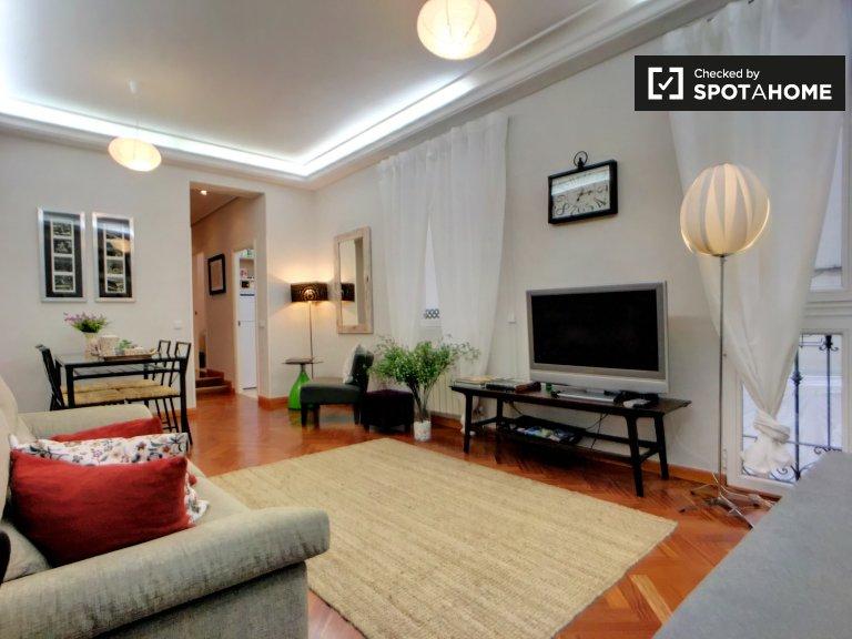 Apartamento de 2 quartos para alugar em Madrid Centro