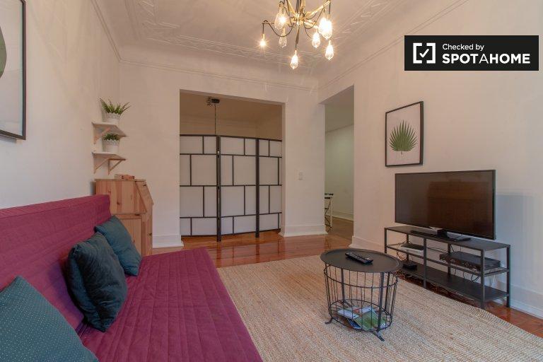 Nowoczesny 4-pokojowy apartament do wynajęcia w Lizbonie