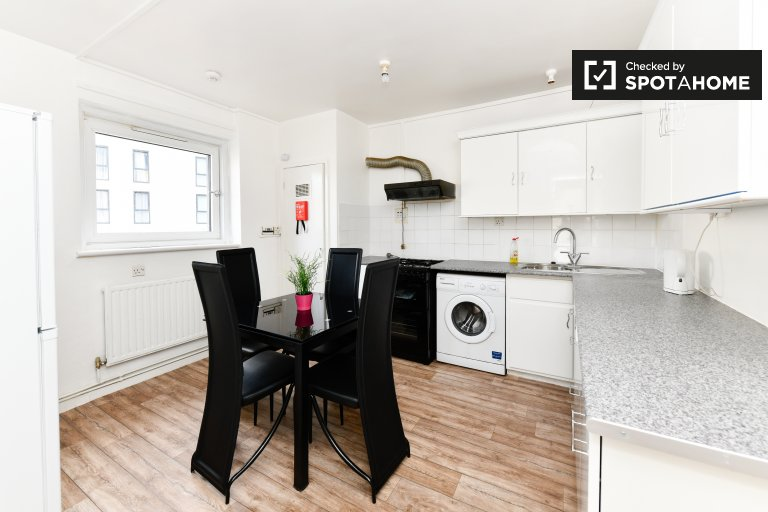 3-bedroom flat in Aldgate, London