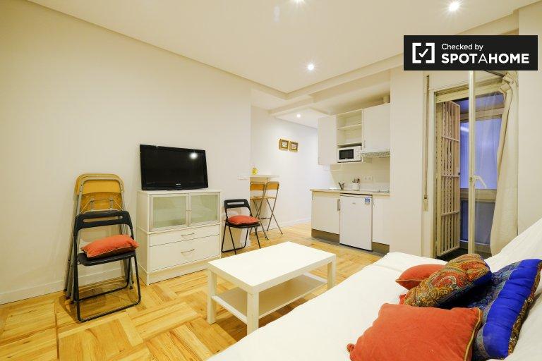 Estudio en alquiler en Almagro y Trafalgar, Madrid