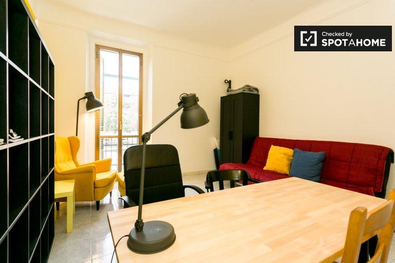 Se alquila habitación en un apartamento de 2 dormitorios en Bovisa, Milán