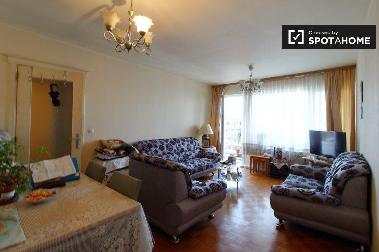 Apartamento de 1 quarto para alugar em Evere, Bruxelas