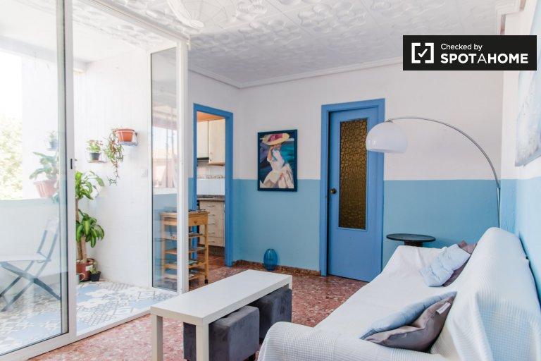 Poblats Marítims'de kiralık geniş 3 yatak odalı daire