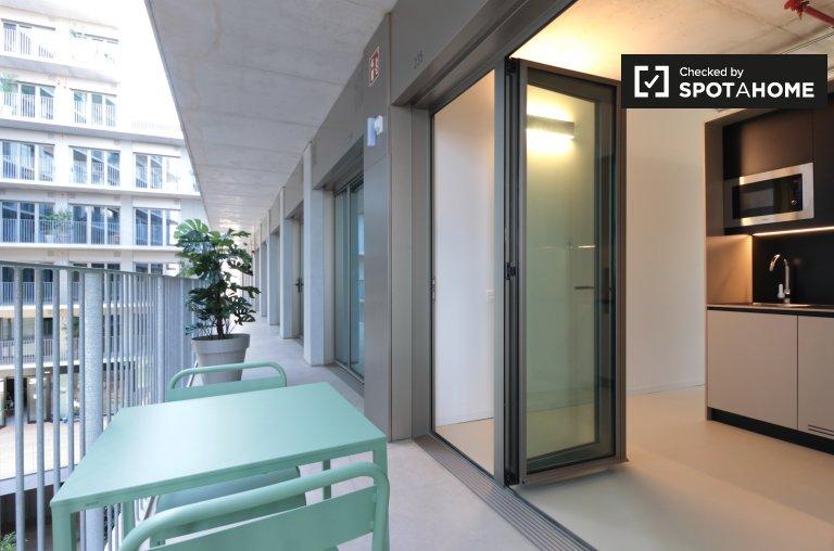 Studio-Apartment zu vermieten in Besòs Mar, Barcelona