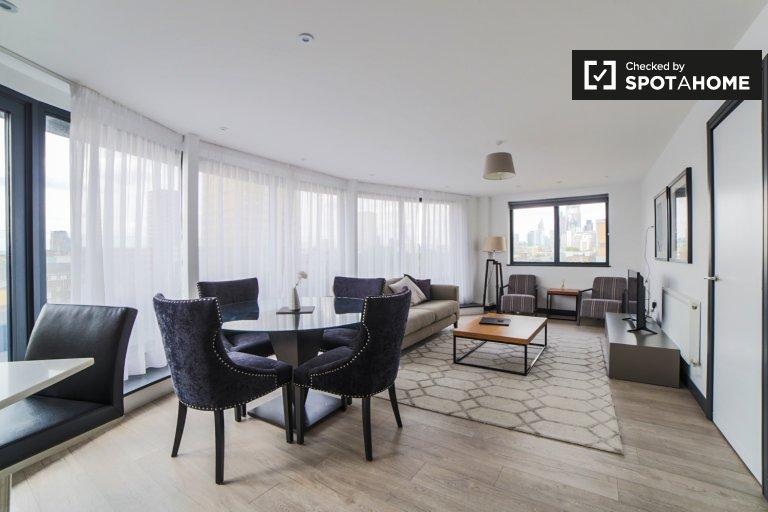 Erstaunliche 2-Zimmer-Wohnung in Tower Hamlets, London zu vermieten