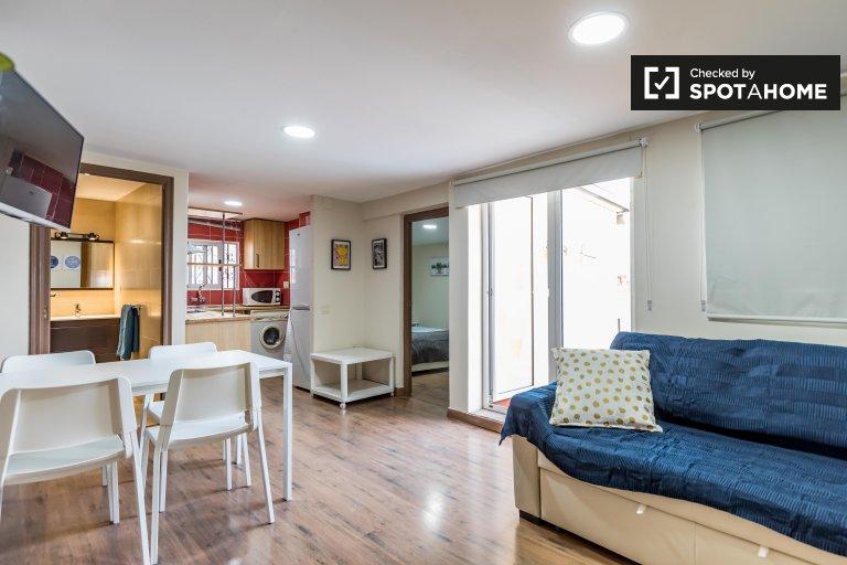 Elegante apartamento de 1 dormitorio en alquiler en Ciutat Vella