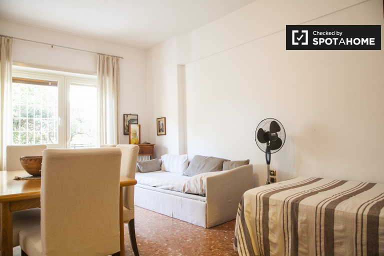 Huge 2-bedroom apartment for rent in Lido di Ostia, Rome