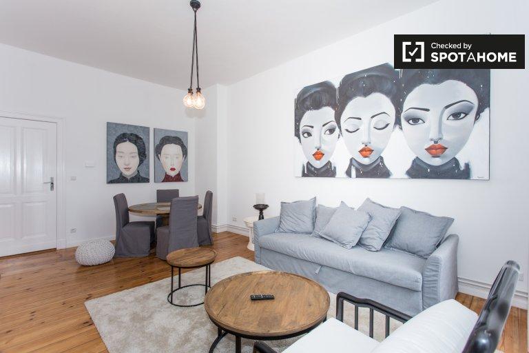 Komfortowy apartament z 1 pokojem do wynajęcia w Charlottenburg